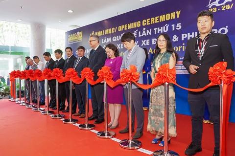 Khai mạc Triển lãm Quốc tế lần thứ 15 về Công nghiệp Ô tô, Xe máy, Xe điện và Công nghiệp Hỗ trợ (Saigon Autotech & Accessories 2019)
