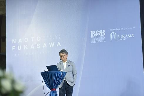 Giới Designer Việt được lĩnh ngộ 40 năm kinh nghiệm từ  NTK huyền thoại người nhật Naoto Fukasawa