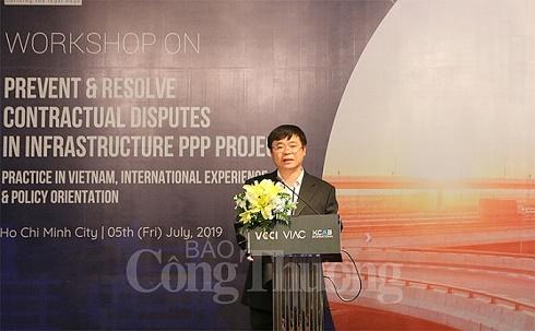 Phòng ngừa và giải quyết tranh chấp trong đầu tư dự án PPP