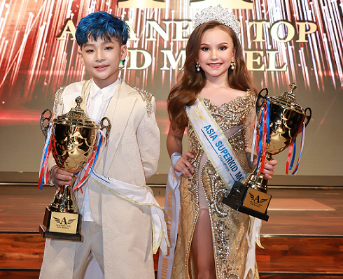 Đại diện Việt Nam và Thái Lan đăng quang Asia Next Top Kid Model 2019
