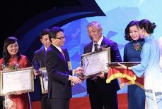 """Saigontourist """"bội thu"""" giải thưởng du lịch của năm"""