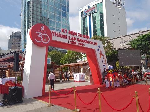 Saigon Co.op khai mạc ngày hội Triệu tin yêu tại Phố đi bộ Nguyễn Huệ