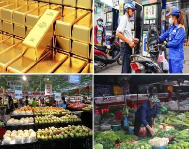 Tiêu dùng trong tuần: Giá vàng, thực phẩm tăng, trong khi giá xăng và trái cây giảm mạnh