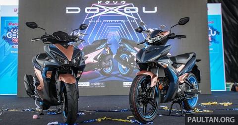 Yamaha giới thiệu Exciter 2019 và NVX 155 phiên bản Doxou