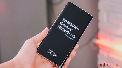 Galaxy Note 10+ 5G đầu tiên tại Việt Nam: cấu hình thách thức mọi đối thủ