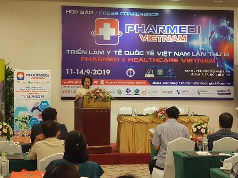 Sắp diễn ra triển lãm Y tế Quốc tế (Pharmed & Healthcare Vietnam 2019) tại TP.HCM
