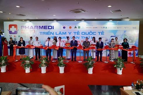 TP.HCM: Khai mạc Triển lãm Y tế Quốc tế Việt Nam 2019 với quy mô hơn 600 gian hàng