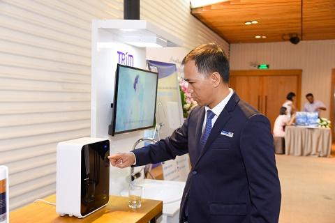 TP.HCM: Ra mắt thương hiệu máy tạo nước Ion kiềm đến từ Nhật Bản