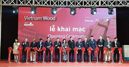 TP.HCM: Khai mạc triển lãm Quốc tế VietnamWood lần thứ 13 - 2019