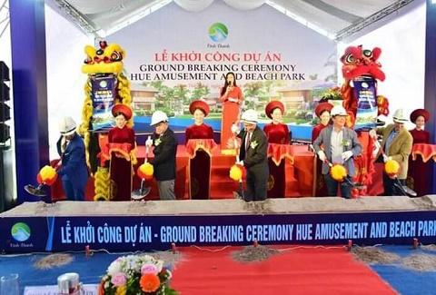 Thừa Thiên Huế: Khởi công dự án khu du lịch, nghỉ dưỡng ven biển 1.000 tỷ đồng