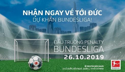 """""""Đấu trường Penalty BUNDESLIGA"""": Cuộc thi đá Penalty đầu tiên tại Việt Nam do Bundesliga tổ chức"""