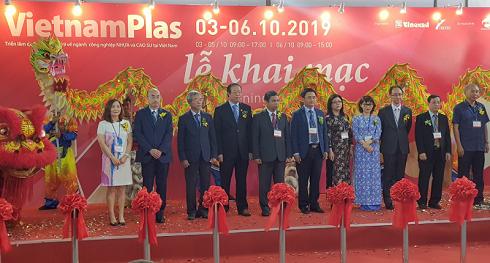 TPHCM: Khai mạc triển lãm quốc tế ngành công nghiệp Nhựa và Cao su 2019