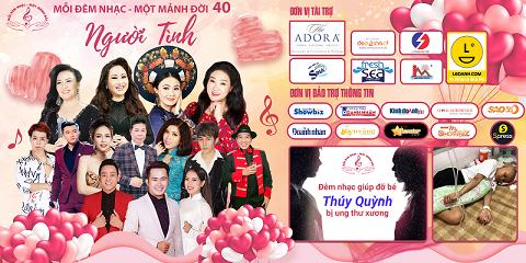 MĐNMMĐ - Lan tỏa tình người trong đêm nhạc thứ 40, giúp em Thúy Quỳnh bị ung thư xương