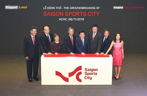 TP.HCM: Keppel động thổ dự án khu đô thị thể thao Saigon Sports City