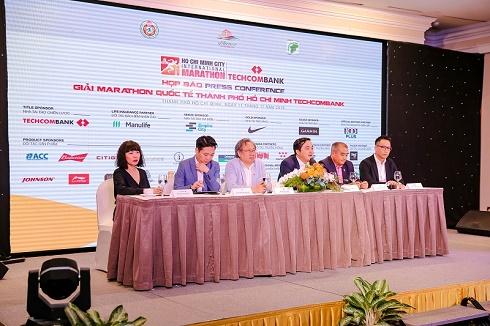 Hơn 13.000 VĐV tham gia Giải Marathon Quốc tế Thành phố Hồ Chí Minh Techcombank 2019