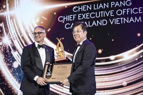 CEO CapitaLand Việt Nam được vinh danh Nhân vật bất động sản của năm 2019