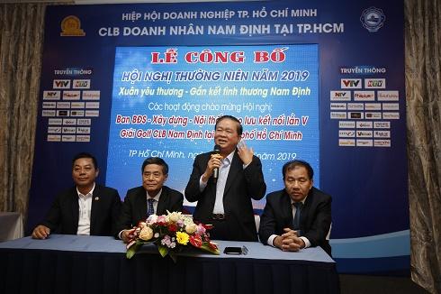 TPHCM: Sắp diễn ra hội nghị thường niên năm 2019 của CLB Doanh nhân Nam Định
