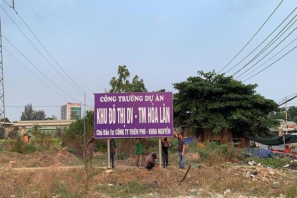 Công ty Kim Oanh chưa phải là chủ đầu tư dự án khu dân cư Hoà Lân