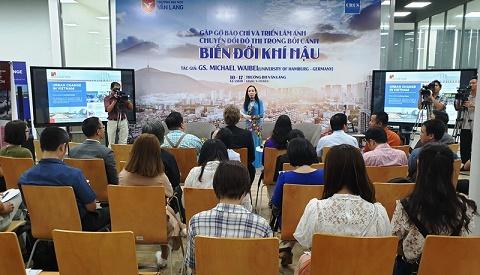 Chuyển hóa đô thị trong bối cảnh biến đổi khí hậu tại Việt Nam từ góc nhìn của Tiến sĩ người Đức