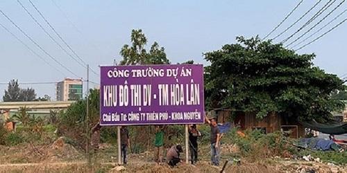 Cơ quan chức năng khẳng định, Kim Oanh không phải là chủ đầu tư của dự án KDC Hòa Lân