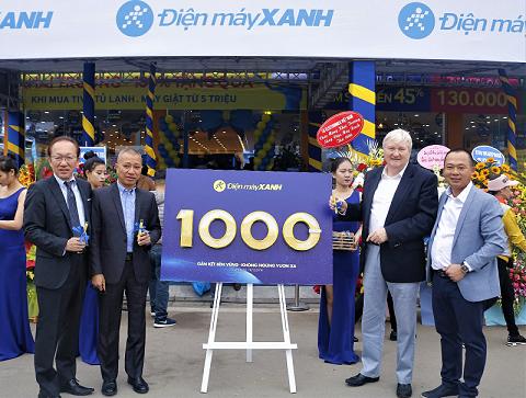 Điện máy Xanh 1.000 siêu thị và hơn thế nữa