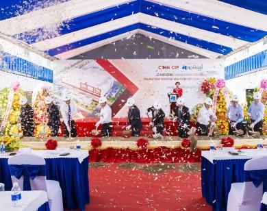 Hòa Bình khởi công dự án Trung tâm Thương mại COBI CIF, giá trị hơn 460 tỷ đồng