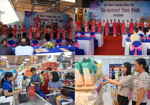 Saigon Co.op đưa vào hoạt động thêm 2 siêu thị tại Tp.HCM và Đắk Lắk