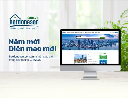 Batdongsan.com.vn chào năm mới với giao diện mới