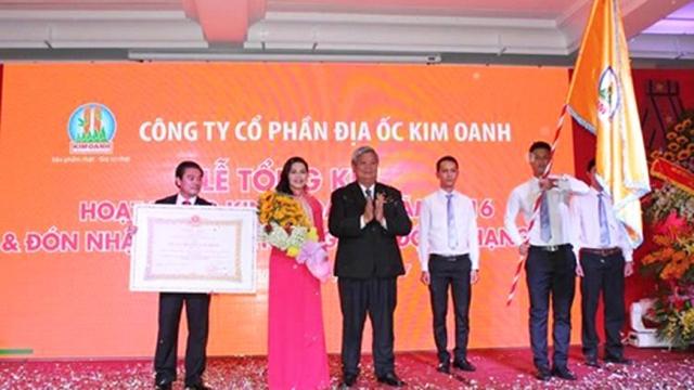 Kim Oanh Group trước nguy cơ bị xem xét lại trao tặng phần thưởng cao quý