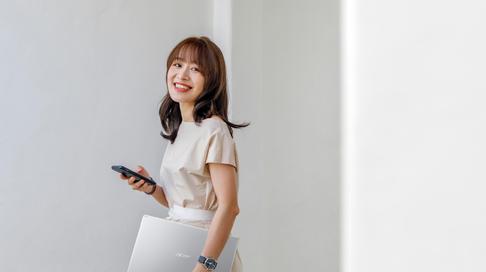 Acer Aspire 5 và những tính năng xịn xò 'đốn tim' học sinh, sinh viên
