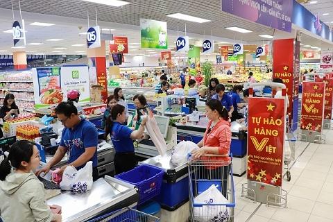 Đảm bảo đầy đủ lương thực, thực phẩm thiết yếu tại hệ thống siêu thị, cửa hàng tiện ích.