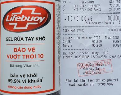 Unilever bán gel rửa tay Lifebuoy lậu?