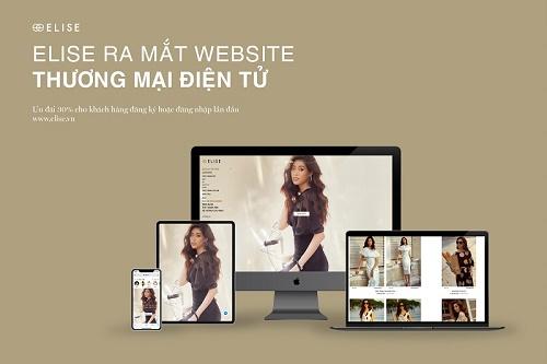 Thời trang Elise chính thức ra mắt Website Thương Mại Điện Tử tại thời điểm khách hàng ưu tiên lựa chọn mua hàng trực tuyến trong bối cảnh Corona Viru