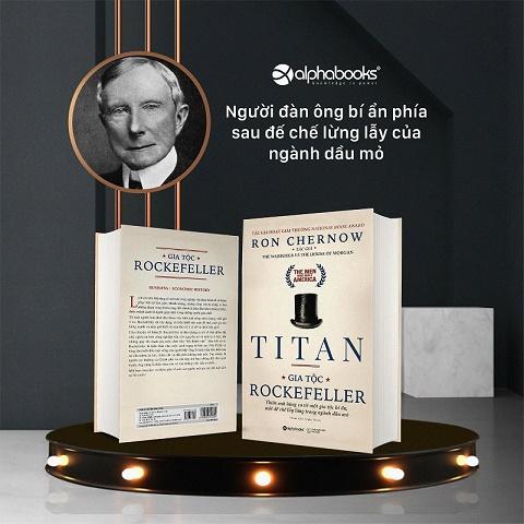 Sắp ra mắt cuốn sách về vị tỷ phú bí ẩn nhất nước Mỹ - John D. Rockefeller