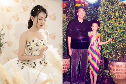 Hoa hậu Huỳnh Thúy Anh khoe ảnh tuổi thơ với nhan sắc xinh đẹp từ tấm bé
