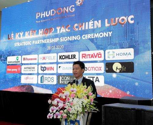 Phú Đông Group ký kết chiến lược với 15 đối tác