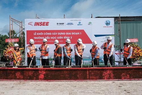 Xi măng INSEE chung tay mang trường mới khang trang đến với hơn 700 em học sinh nghèo