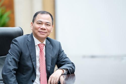 Chủ tịch Tập đoàn Vingroup Phạm Nhật Vượng lọt top 500 tỷ phú thế giới