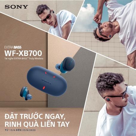 Sony ra mắt tai nghe Truly Wireless WF-XB700 – Chuẩn chất âm chuyên gia, chi tiết tạo nên sự khác biệt, quà tặng đặc biệt khi đặt trước