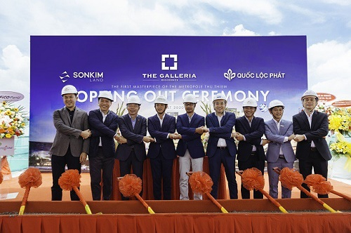SonKim Land tổ chức lễ cất nóc Dự án The Galleria Residence