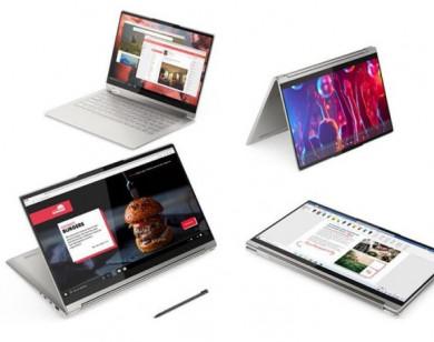Lenovo vừa ra mắt Laptop Yoga bọc da cao cấp, pin 20 giờ