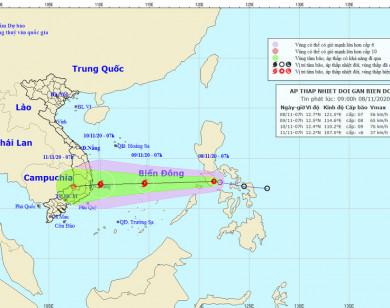 Công điện khẩn ứng phó áp thấp nhiệt đới có khả năng mạnh lên thành bão
