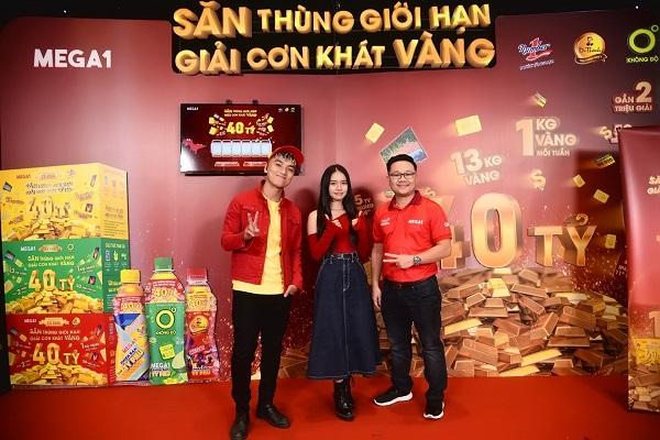 Thêm một khách hàng may mắn ở TP Hồ Chí Minh trúng 1kg vàng SJC 999.9 từ Mega1