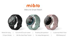 Smartwatch Mibro Air của Xiaomi ra mắt: chống nước IP68, pin 25 ngày