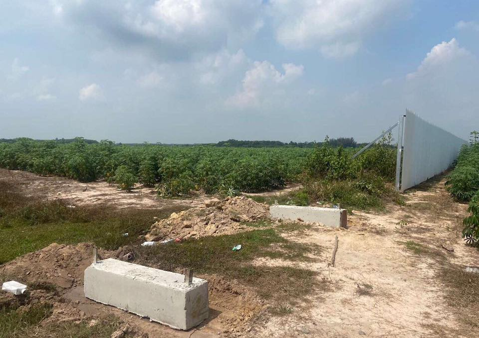 Đất dự án The Centre House vẫn đang trồng mì, Lilama 45.1 đã rầm rộ chào bán