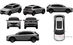 Lộ thiết kế chi tiết xe VinFast mới vừa chạy thử tại Việt Nam: SUV to ngang Honda CR-V, 2 tùy chọn động cơ xăng và điện