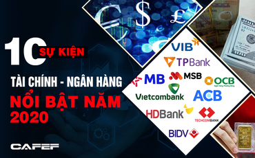 10 sự kiện tài chính - ngân hàng nổi bật năm 2020