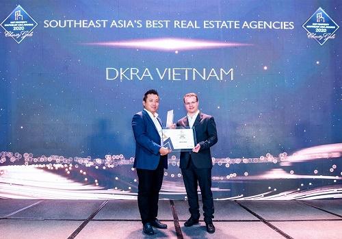 """DKRA Vietnam được vinh danh là """"Đơn vị phân phối Bất động sản tốt nhất Đông Nam Á"""" hai năm liên tiếp"""