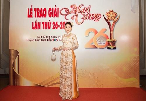 Nhà Sản Xuất phim Kim Thanh Thảo kiêu sa tham dự Lễ trao giải Mai Vàng 2020