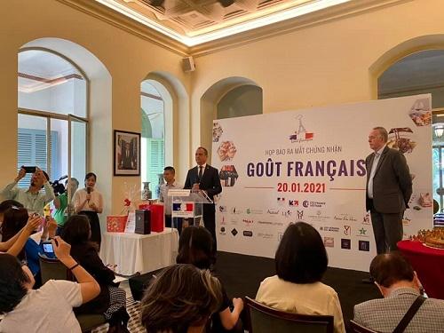 Goût Français – Chứng nhận chuỗi công ty nhập khẩu rượu vang, thực phẩm Pháp và các nhà hàng Pháp tại Việt Nam